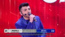 "Amici - Jefeo canta ""Sei bellissima"", polemica contro Loredana Bertè"