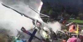 Nepal, aereo si schianta contro elicottero: le prime immagini