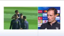 "Juventus, Allegri: ""Mandzukic e Chiellini out con l'Ajax"""