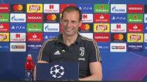 """Champions, Juve verso l'Ajax. Allegri: """"Avremo grande rispetto per l'Ajax"""""""