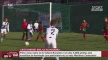 Il dna di CR7 Junior: il figlio di Ronaldo fa sette gol con l'Under 9