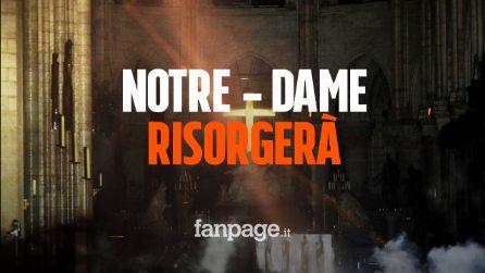 Incendio cattedrale Notre-Dame, ecco quanto ci vorrà per ricostruirla