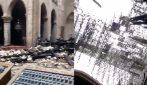 Incendio Notre Dame, le immagini all'interno della cattedrale