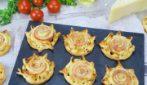 4 antipasti sfiziosi da preparare con la pasta sfoglia in pochi minuti!