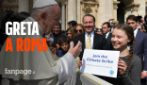 "Greta Thunberg arriva a Roma: l'incontro con Papa Francesco e venerdì ""Friday for Future Roma"""