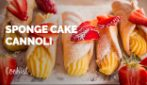 Sponge cake cannoli: these treats are hard to resist!
