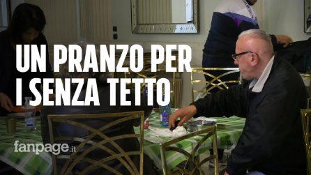 Napoli, un pranzo di Pasqua per i senzatetto: al teatro San Carlo va in scena la solidarietà
