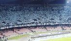 Napoli-Arsenal, la curva B è uno spettacolo