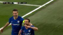 Europa League. Chelsea-Slavia Praga 4-3: il video dei gol