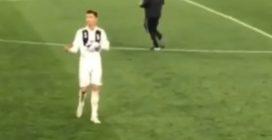 """Juve-Ajax, il gesto di Cristiano Ronaldo ai compagni di squadra: """"Qualcuno se l'è fatta sotto"""""""