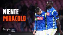 Napoli-Arsenal, azzurri sconfitti al San Paolo (0-1): la squadra di Ancelotti fuori da Europa League