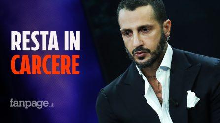 Fabrizio Corona resta in carcere: revocato l'affidamento terapeutico, potrebbe uscire nel 2022