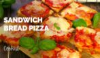 Sandwich bread pizza: quick and easy, ready in 20 minutes!