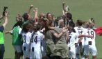 Juve Campione d'Italia donne: la festa al fischio finale