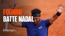 Fabio Fognini batte Rafa Nadal e vola in finale a Montecarlo