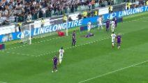 Serie A, Juve-Fiorentina i due gol scudetto negli highlights