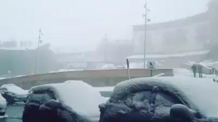 Una Pasqua imbiancata: strade e auto completamente ricoperte dalla neve
