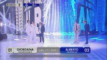 Massimo Ranieri e Al Bano Carrisi si esibiscono ad Amici