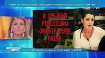 """Domenica Live, Ivana Icardi ammette: """"Ho leccato l'orecchio a Gianmarco Onestini"""""""