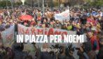 """Napoli scende in piazza per Noemi: """"Chi ha sparato si costituisca"""""""