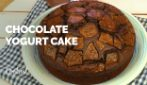 Yogurt chocolate cake: rich and moist, without butter!