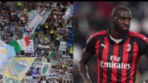 I vergognosi cori dei tifosi della Lazio contro Bakayoko