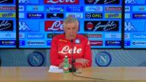 """Napoli, Ancelotti: """"Insigne out ma non c'è nessun caso"""""""