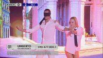 Amici 2019 - Umberto Gaudino danza bendato