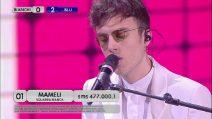 Amici 2019, Mameli canta 'La musica non c'è' di Coez