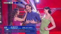Amici 2019, Alberto Urso canta 'I've got you under my skin'