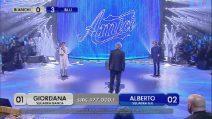 Amici 2019, Alberto e Giordana cantano 'Almeno tu nell'universo'