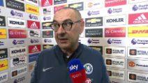 """Sport - Calcio-estero - Sarri: """"Il primo anno in Premier League è duro per tutti"""""""
