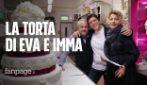 """Eva Grimaldi e Imma Battaglia presto spose: 'La nostra sarà una torta molto semplice e tradizionale"""""""