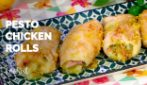 Pesto chicken rolls: easy and delicious!