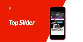 Top Slider Mobile per McDonald's