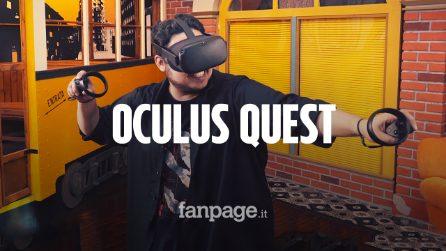 Abbiamo provato Oculus Quest, il futuro della realtà virtuale