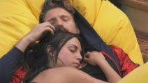 Al Grande Fratello tenerezze tra Gennaro e Francesca