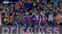 Champions, fantastico Messi: il 600° gol con il Barça è una meraviglia