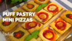 Puff pastry mini pizzas: the way to get pizza on the table in minutes!