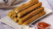 Crunchy egg Fingers: an easy snacks with a few ingredients!