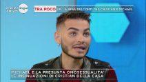 """Mattino Cinque, Federica Panicucci a Cristian Imparato: """"Ma perché non lasci in pace Michael?"""""""