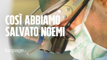 """""""Così abbiamo salvato Noemi"""", il racconto di uno dei medici"""