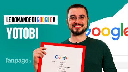 Yotobi, Twitch, Instagram, games: lo youtuber risponde alle domande di Google