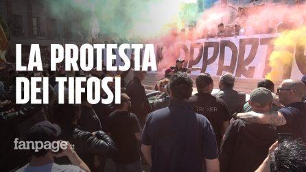 Calcio: protesta tifosi As Roma per addio De Rossi, cori contro Pallotta