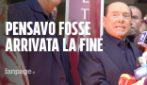 """Silvio Berlusconi dimesso dall'ospedale: """"Ho pensato di essere arrivato alla fine"""""""
