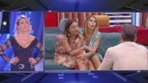 """GF, Guendalina Canessa e Francesca De André incontrano Daniele Interrante: """"Dov'è Melissa Satta?"""""""