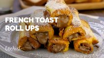French toast roll ups with hazelnut cream: easy, simple and delicious!