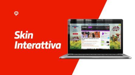 Skin Interattiva Desktop per Esselunga