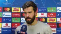"""La Roma e i Reds: Alisson, incubo del Barça: """"Impresa incredibile, un sogno che si realizza"""""""