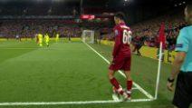 Champions, Liverpool-Barcellona 4-0: la furbata su calcio d'angolo del Liverpool